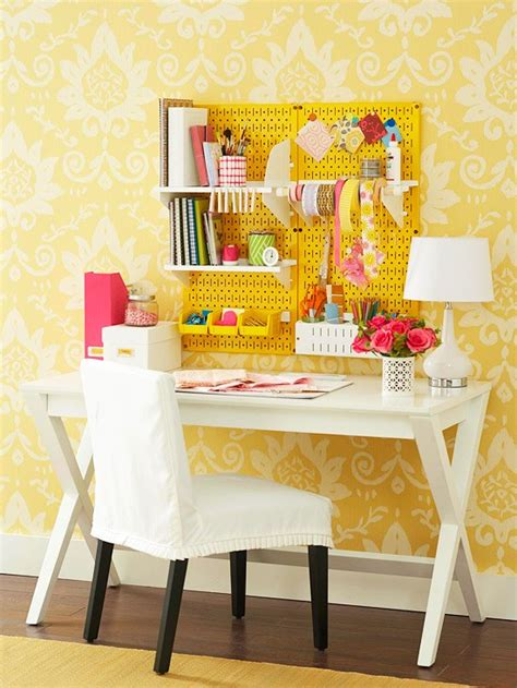 how to build a pegboard office supply organizer 20 inspiring pegboard creative spaces tatertots and jello