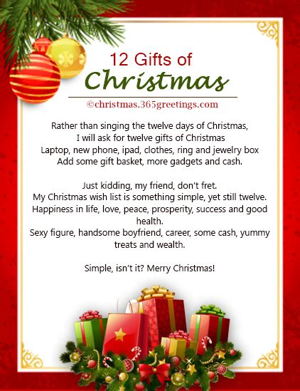 the best christmas gift poem poems celebration all about