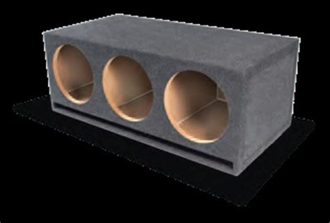 "atrend triple 12"" bottom vented subwoofer box"