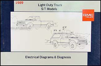 1989 gmc suburban wiring diagram wiring diagram 1989 gmc s15 and jimmy wiring diagram manual electrical schematic 89 s 15 ebay