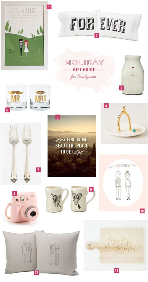 newlyweds gifts holiday gift guide for newlyweds
