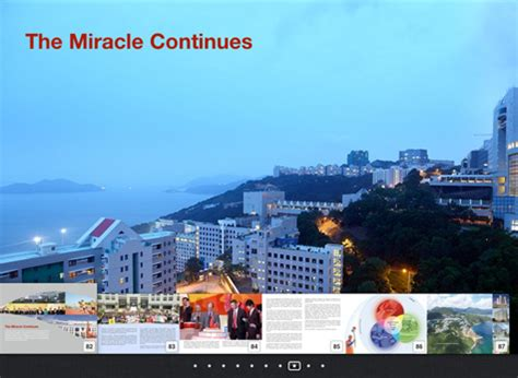 The Miracle Continues Hkust Our Miracle Continues