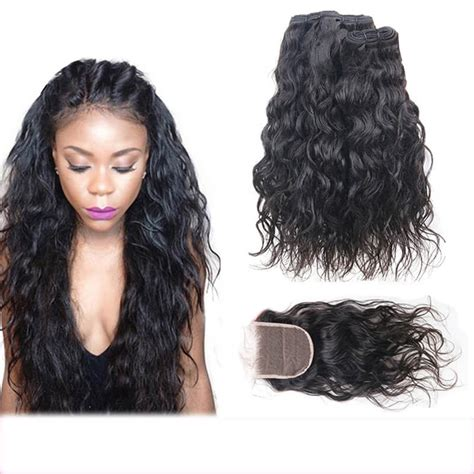 Wiki Closure Hair Extension | wiki closure hair extension lace closure with 3 bundles