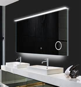 bathroom led mirror illuminated led mirrors with demister pad for bathroom