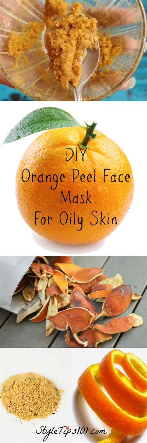 diy orange mask diy orange peel mask for skin