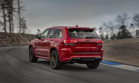 jeep trackhawk back jeep grand cherokee trackhawk officially revealed