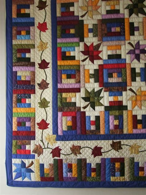 89 best images about log cabin quilt patterns on