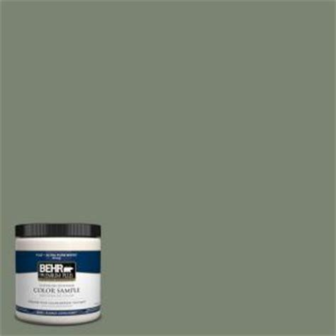behr premium plus 8 oz icc 77 green interior exterior paint sle icc 77pp the home depot