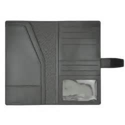 porte documents de voyage en cuir
