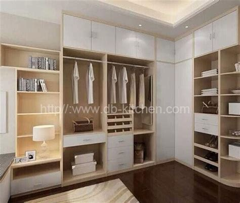high quality wooden walk in closet design