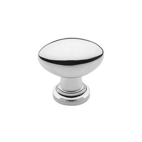 Polished Knob by Traditional Polished Nickel Oval Knob Knobs N Knockers
