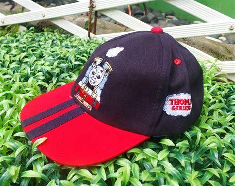 Topi Pet Anak Stripe topi karakter anak hitam