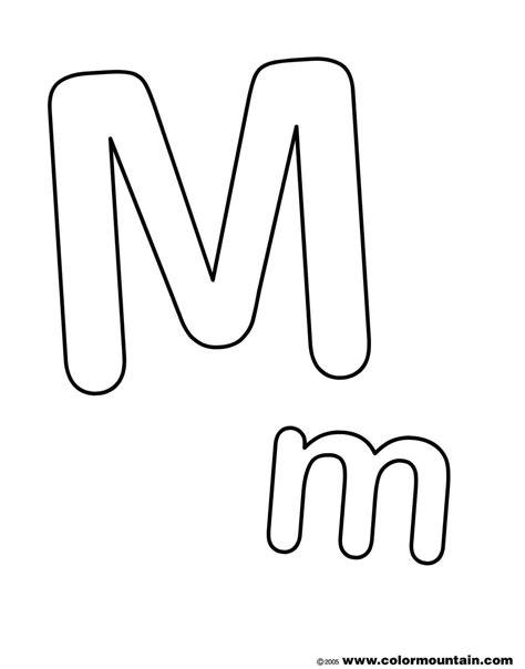 Fancy Bubble Letters M Loading