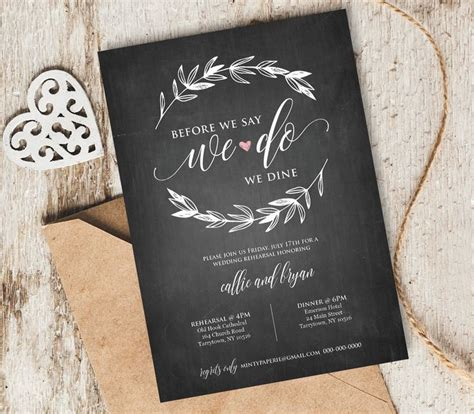 rehearsal dinner invitations wedding paper divas 25 best ideas about wedding rehearsal invitations on wedding rehearsal dinners