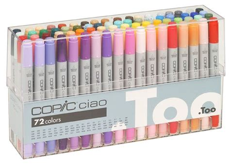 Copic Ciao Set 72 A copic ciao markers for 72 a 72 colors set a free shipping japan ebay