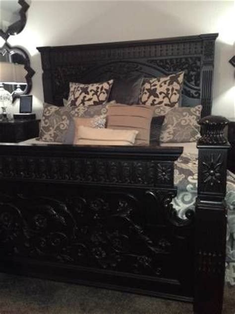 incredible ashley furniture king sized britannia rose set