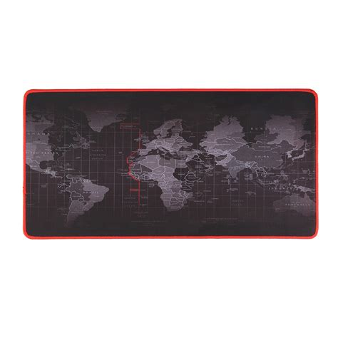 Mousepad Basic Smooth Anti Slip Mouse Pad For Office Home anti slip world map pattern soft rubber smooth cloth surface mouse pad keyboard mat
