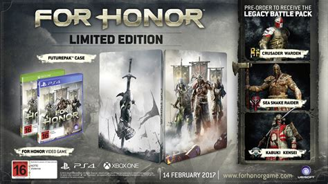 Promo For Honor Collector Edition Ps4 for honor limited edition xbox one buy now at mighty ape nz