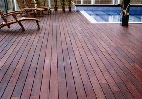 Wood Patio Flooring by 4 Stylish Outdoor Flooring Materials Present