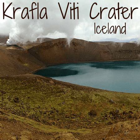krafla viti crater, iceland: another surreal icelandic