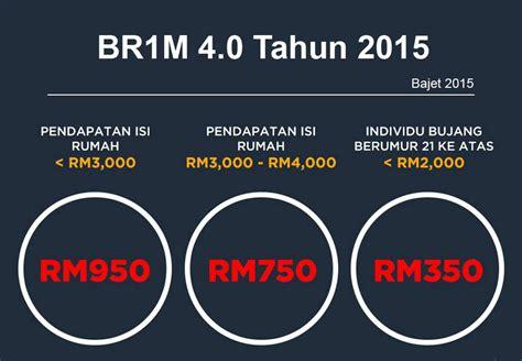 borang online rayuan br1m 2015 bantuan rakyat 1malaysia kadar bayaran br1m 4 0 tahun 2015 bantuan rakyat 1malaysia