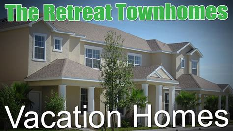 vacation homes clermont fl the retreat townhomes vacation homes clermont florida