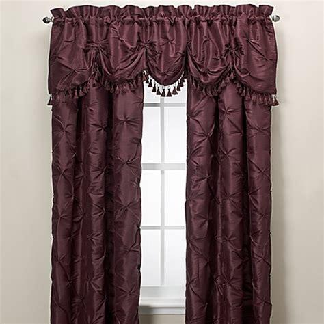 nicole miller chateau curtains nicole miller 174 chateau rod pocket panel bed bath beyond