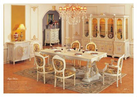 European Dining Room Furniture by European Style Furniture Royalty Classic Dining Room Set