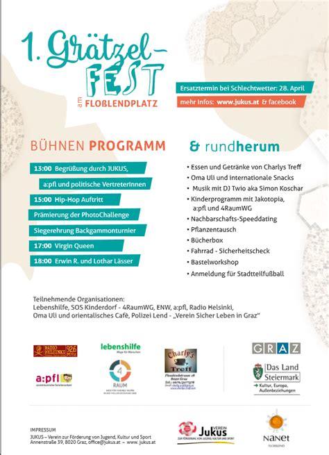Musterbrief Einladung Event Gr 228 Tzlsfest2 Lebenshilfen Soziale Dienste Gmbh