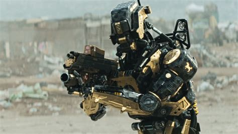 film robot policier district 9 is chappie meant to be a prequel to elysium