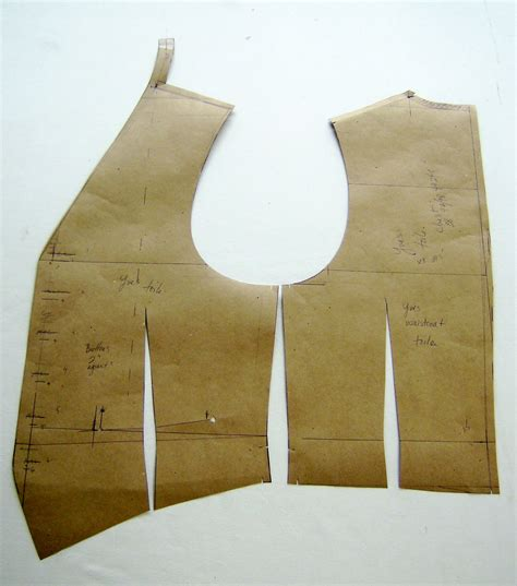 pattern waistcoat a tailor made it new waistcoat pattern