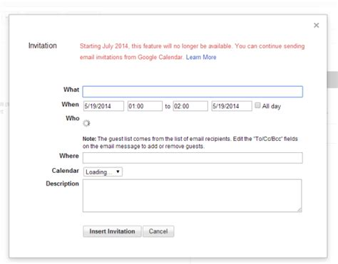 Where Is Calendar In Gmail Gmail Will Remove Calendar Invitation Feature