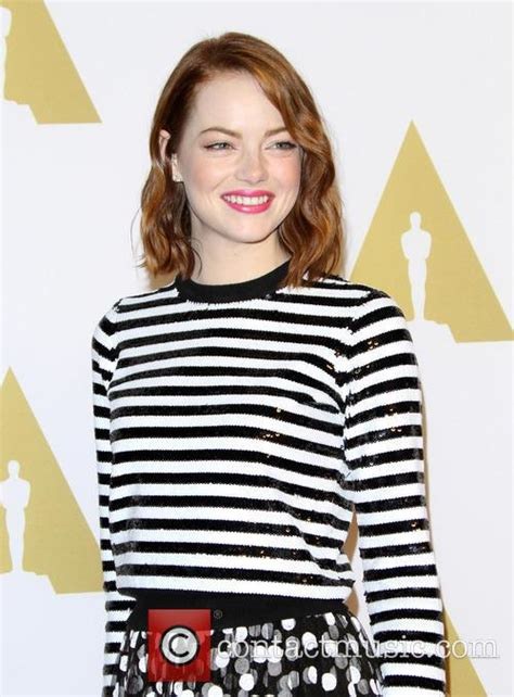 emma stone oscar nominations emma stone oscar nominees luncheon 8 pictures