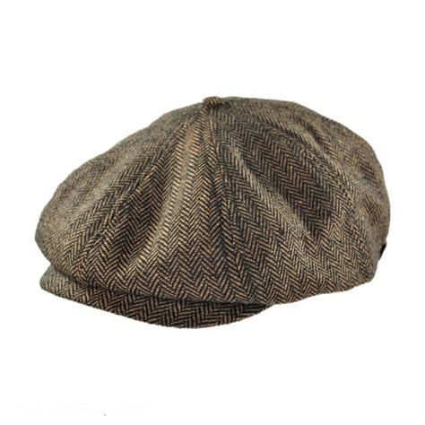 Herringbone Cap brixton hats brood herringbone wool blend newsboy cap