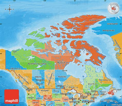 canadian map political political map of canada