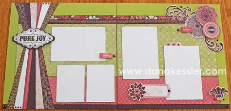 scrapbook layout blogs simply inspired ctmh new idea book blog hop ivy lane
