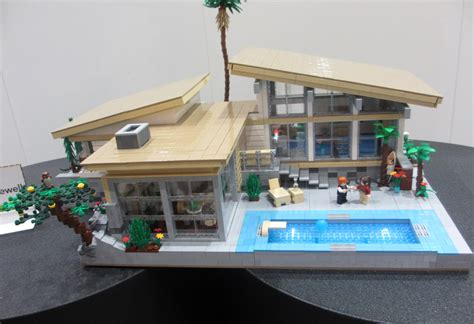 Design A Lego House Legos With Modern Design And Led Lighting Lightopia S