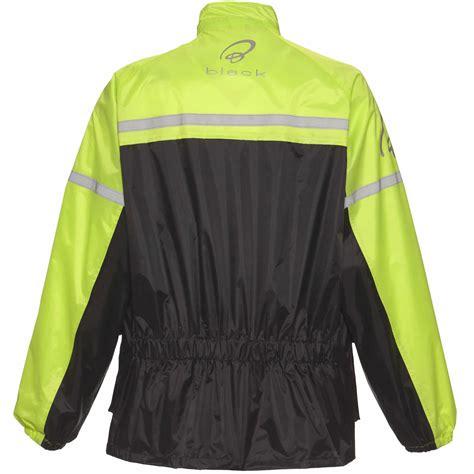 motorcycle over jacket black spectre waterproof hi vis 2 piece motorcycle rain