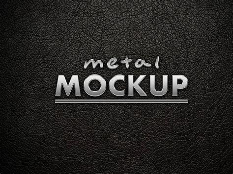 metal logo 45 free realistic metal logo psd design mockups free