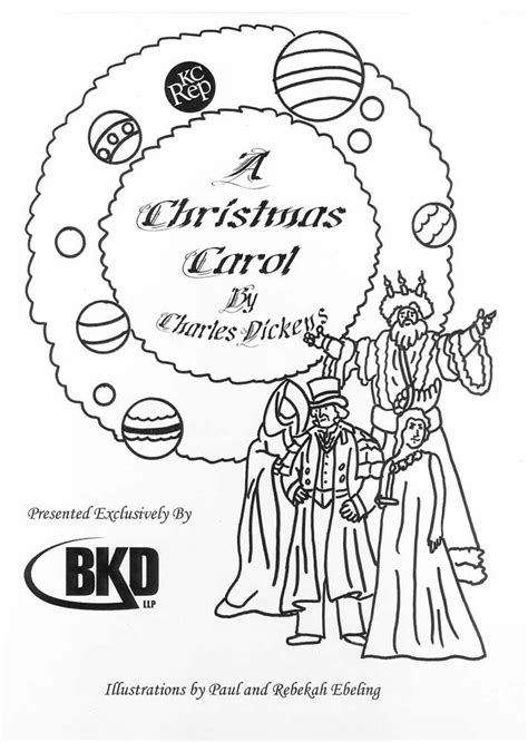 a christmas carol coloring pages coloring home