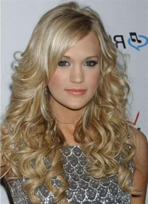 blonde hairstyles side fringe layered hairstyles for long hair with side fringe