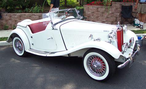 markup on new cars 1954 mg td ii white