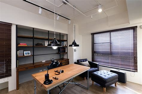 home office lighting design 27 ingenious industrial home offices with modern flair