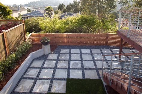 Sted Concrete Backyard Ideas by Cast Concrete Patio Patio San Francisco