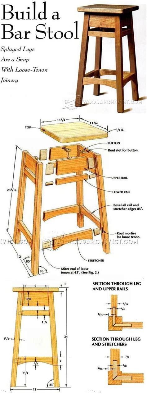 diy bar stool plans best 25 wood stool ideas on pinterest milking stool
