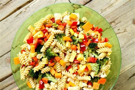 pasta salad vegetarian summer vegetable pasta salad recipe girl