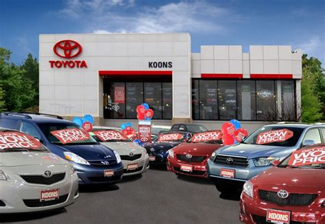 Toyota Dealer Used Cars About Koons Arlington Toyota Dealership New Toyota
