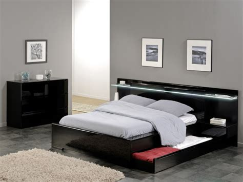 headboard with storage and lights 10 stunning modern bed designs