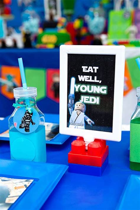 how we created our boys star wars themed bedrooms cool kara s party ideas star wars lego birthday party kara s