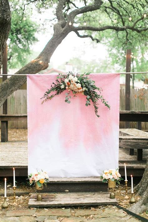indoor and outdoor wedding reception backdrop